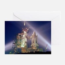 Space Shuttle Launch Greeting Cards (Pk of 10)