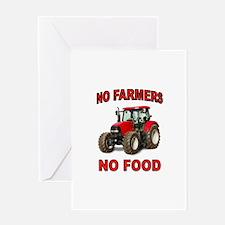 FARMER AMERICAN Greeting Cards
