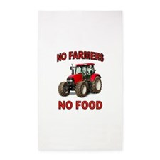 FARMER AMERICAN 3'x5' Area Rug