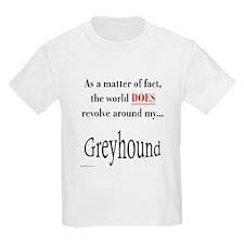 Greyhound World Kids T-Shirt