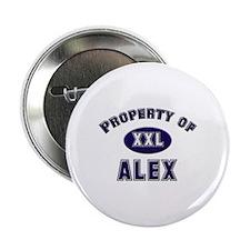 Property of alex Button