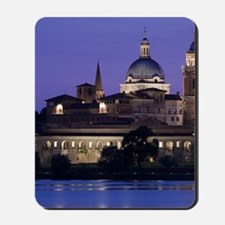 Town view and Palazzo Ducale from Lago I Mousepad