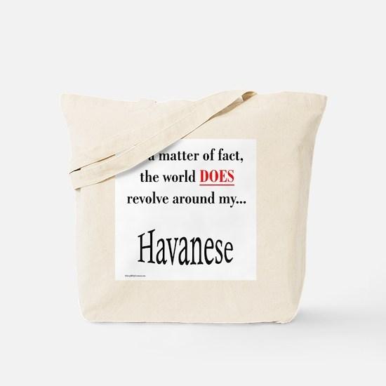 Havanese World Tote Bag