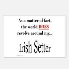 Irish Setter World Postcards (Package of 8)