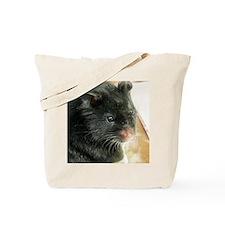 Black Hamster Tote Bag
