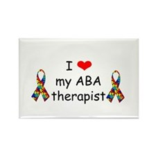 i love my ABA therapist PNG Magnets