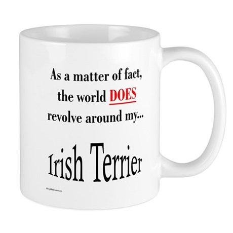 Irish Terrier World Mug