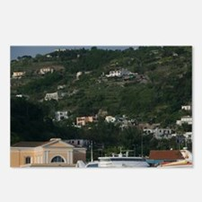 ISCHIA PORTO: Ferry Port  Postcards (Package of 8)