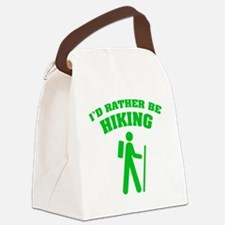 ratherBeHiking3 Canvas Lunch Bag