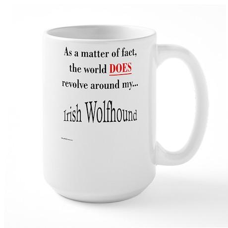 Wolfhound World Large Mug