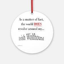 Wolfhound World Ornament (Round)