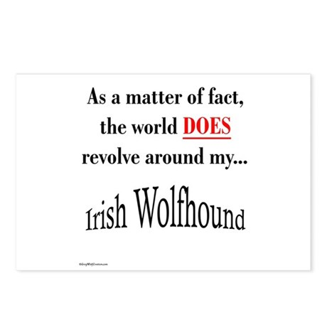 Wolfhound World Postcards (Package of 8)