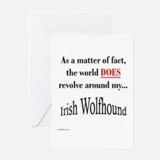 Wolfhound World Greeting Cards (Pk of 10)