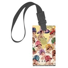 20s hats Luggage Tag