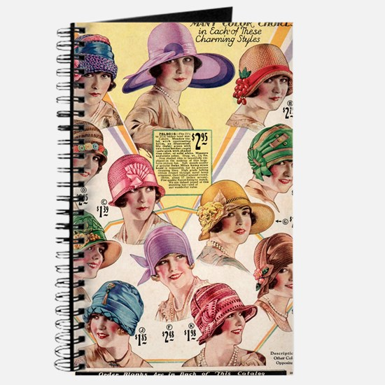 20s hats Journal
