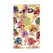 20s hats Decal