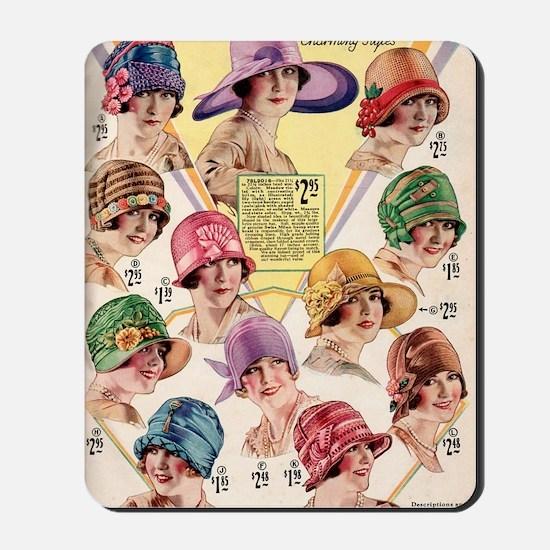 20s hats Mousepad