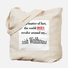 Wolfhound World Tote Bag