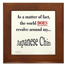 Chin World Framed Tile