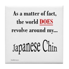 Chin World Tile Coaster