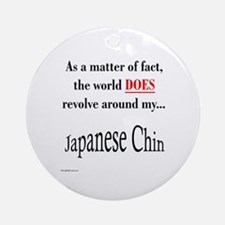 Chin World Ornament (Round)
