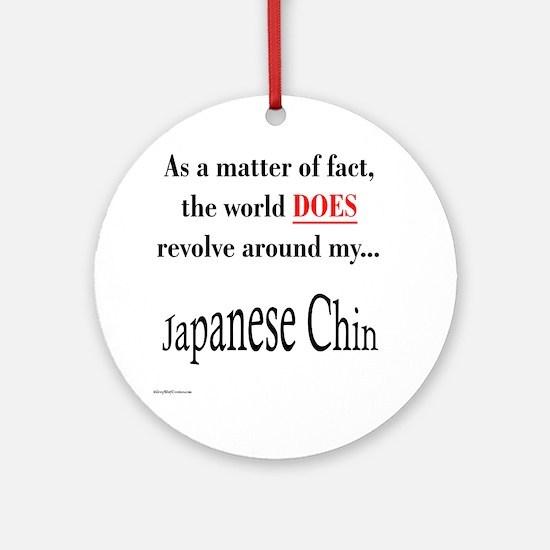 Chin World Ornament (Round)