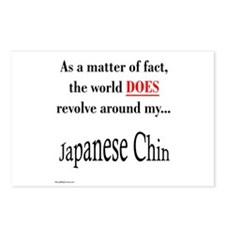 Chin World Postcards (Package of 8)