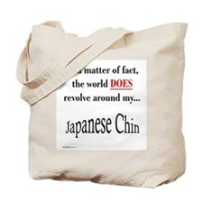 Chin World Tote Bag
