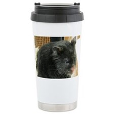 Black Hamster Travel Mug