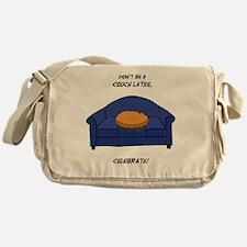 Couch Latke Messenger Bag
