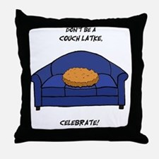 Couch Latke Throw Pillow