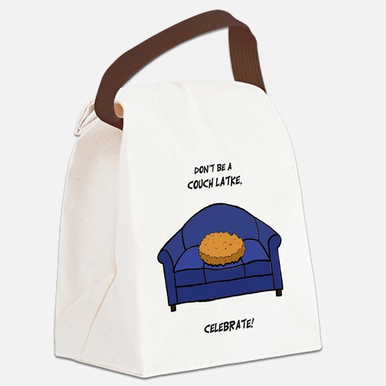 Couch Latke Canvas Lunch Bag