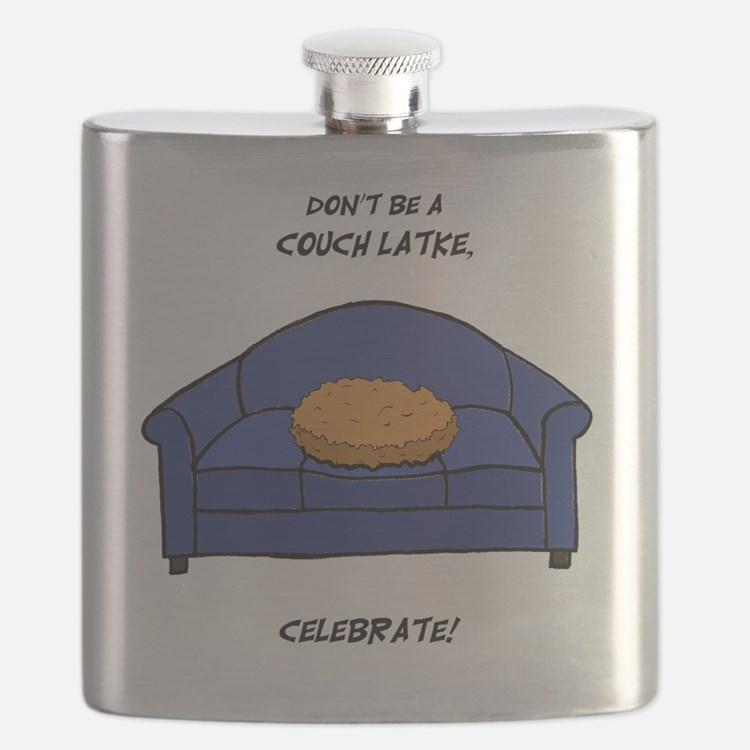 Couch Latke Flask