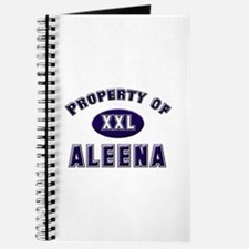 Property of aleena Journal