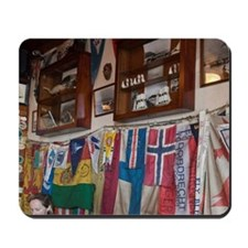 Faial, Azores, Portugal. Peter Sport Caf Mousepad