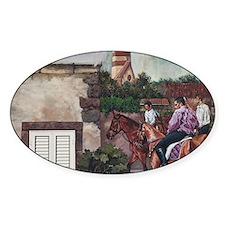 Italy, Sardinia, Tinnura. Mural on  Decal