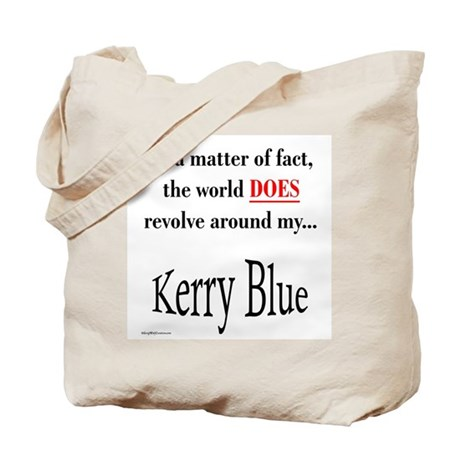 Kerry Blue World Tote Bag