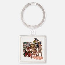 LilCreaturesT Square Keychain