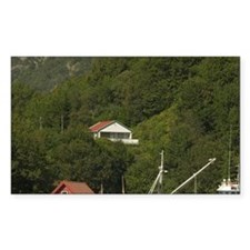 Norway, North Sea fishing boat Decal
