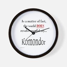 Komondor World Wall Clock