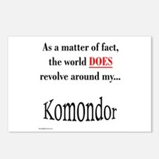 Komondor World Postcards (Package of 8)