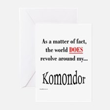 Komondor World Greeting Cards (Pk of 10)