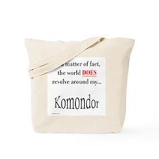 Komondor World Tote Bag