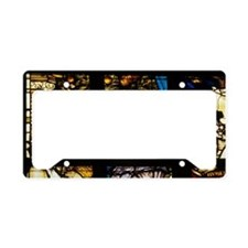 Stained glass of the Niuewe K License Plate Holder