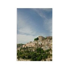 ITALY, Sicily, RAGUSA IBLA: Town  Rectangle Magnet