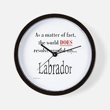 Lab World Wall Clock