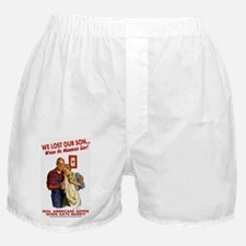 Our Son Married Gay! Boxer Shorts