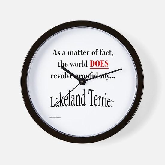 Lakeland World Wall Clock