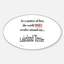 Lakeland World Oval Decal