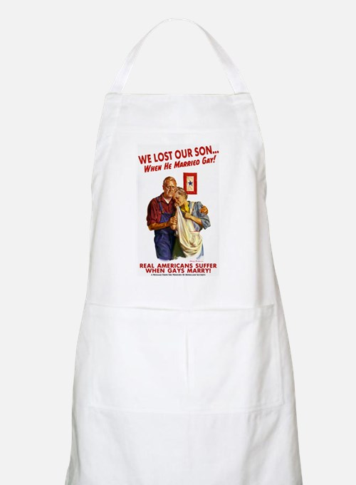 Our Son Married Gay! BBQ Apron